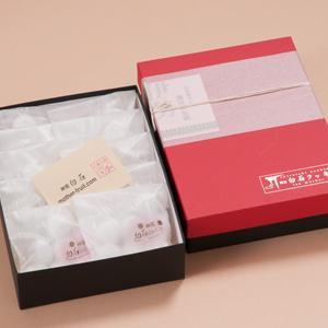 神宮白石クッキー 70個入(7個×10袋) 箱色  赤×黒