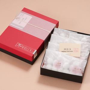 神宮白石クッキー56個入(7個×8袋) 箱色 赤×黒