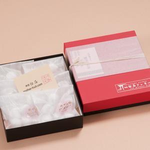 神宮白石クッキー 42個入(7個×6袋) 箱色  赤×黒