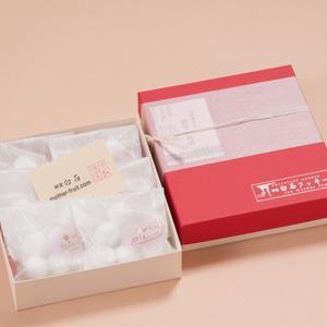 神宮白石クッキー 42個入(7個×6袋) 箱色  赤×白