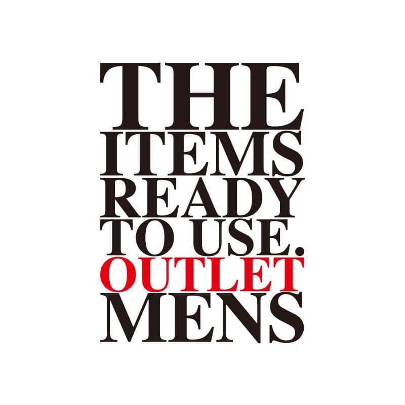 OUTLET MENS