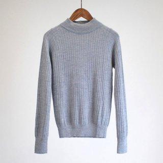 【40%OFF】PHLANNEL Wo/Co/Si Mockneck Rib Knit