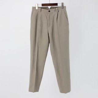 【7月14日再値下げ!】【35%OFF】PHLANNEL Wool Linen One Tuck Trousers