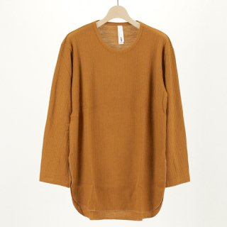 【1月12日再値下げ!】【23%OFF】Edwina Horl LONG SLEEVE CUTSEW(CAMEL)