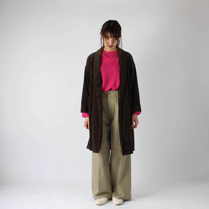 MY CORDUROY GOWN