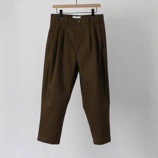 HED MAYNER ヘドメイナー ROUND HIGH WAIST PANTS
