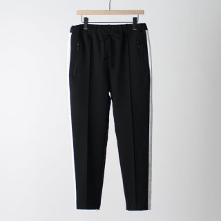 【FINAL PRICE】【35%OFF】【2018 S/S】【bukht】TRACK PANTS BLACK X WHITE
