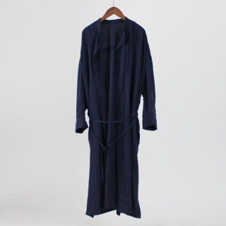 【FINAL PRICE 1月21日再値下げ】【35%OFF】MY  SMOCK DRESS COAT NAVY