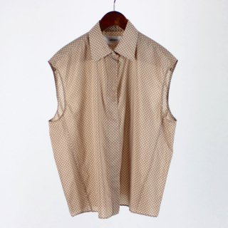【FINAL PRICE】【30%OFF】JANE SMITH  NO SLEEVE SHIRTS BEIGE