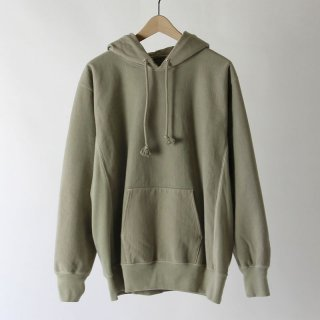 【2018 A/W】【AURALEE / オーラリー メンズ】SUPER MILLED SWEAT P/O PARKA LIGHTKHAKI