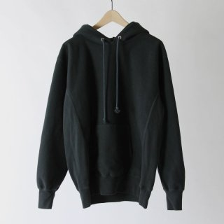 【2018 A/W】【AURALEE / オーラリー メンズ】SUPER MILLED SWEAT P/O PARKA BLACK