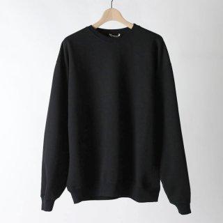 【2018 A/W】【AURALEE / オーラリー メンズ】SUPER SOFT HEAY SWEAT P/O BLACK