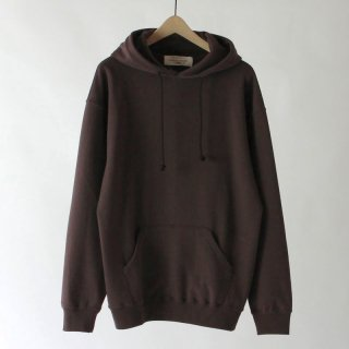 【2018 A/W】UNIVERSAL PRODUCTS ユニバーサルプロダクツ YAAH ECO T/C SWEAT HOODIE BROWN