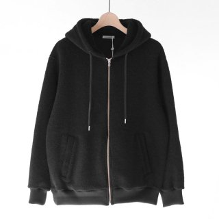 【2018 A/W】UNIVERSAL PRODUCTS ユニバーサルプロダクツ WOOL BOA ZIP HOODIE