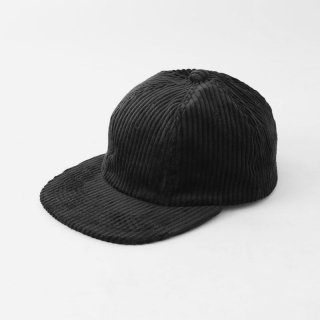 【2018 A/W】UNIVERSAL PRODUCTS ユニバーサルプロダクツ A.D.A.N. 6PANEL CAP BLACK