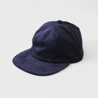 【2018 A/W】UNIVERSAL PRODUCTS ユニバーサルプロダクツ A.D.A.N. 6PANEL CAP NAVY