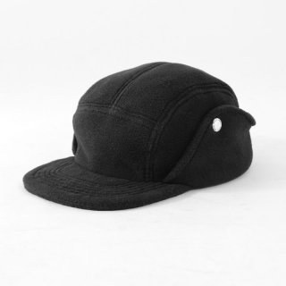 【2018 A/W】UNIVERSAL PRODUCTS ユニバーサルプロダクツ POLARTEC? FLEECE SNAP TRAIL CAP BLACK
