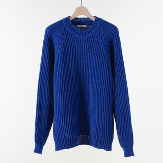 【2018 A/W】UNIVERSAL PRODUCTS ユニバーサルプロダクツ LOW GAUGE CREW NECK KNIT