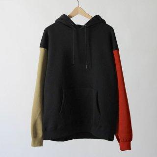 【2018 A/W】【unfil / アンフィル】cotton-terry hoodie MULCH