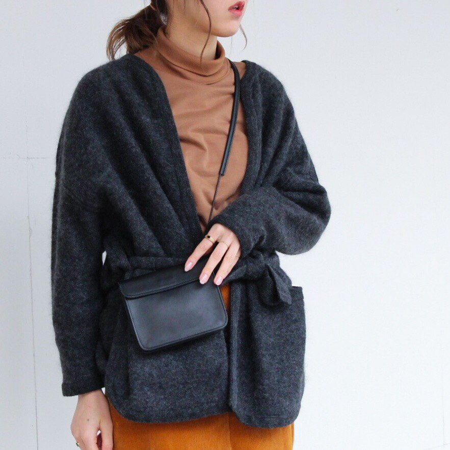 MARIA JOBSE 1-POCKET CLUTCH