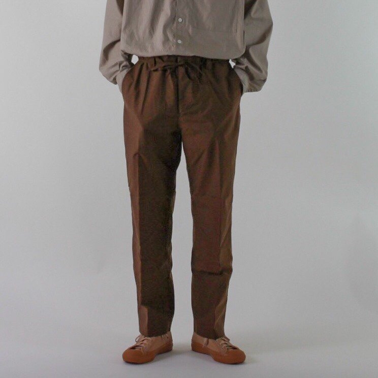 DESCENTE PAUSE WIDE TAPERED PANTS