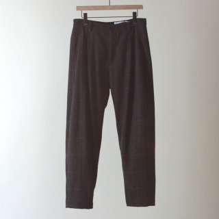 【2018A/W】nuterm ニューターム WORKERS TROUSERS DARK BORWN