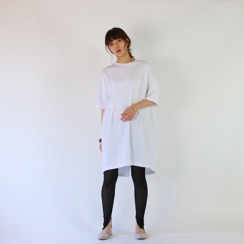 unfil sulvin cotton jersey oversized T-shirt dress