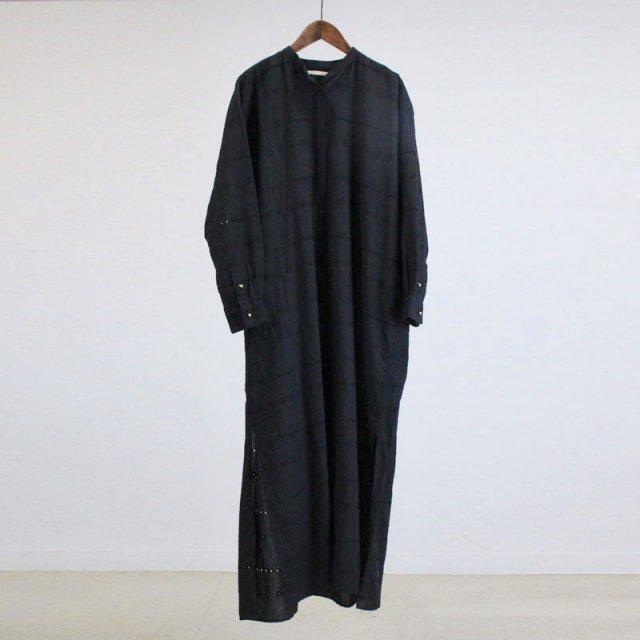 【ne Quittez pas ヌキテパ】 HEMLA KAFTAN DRESS BLACK