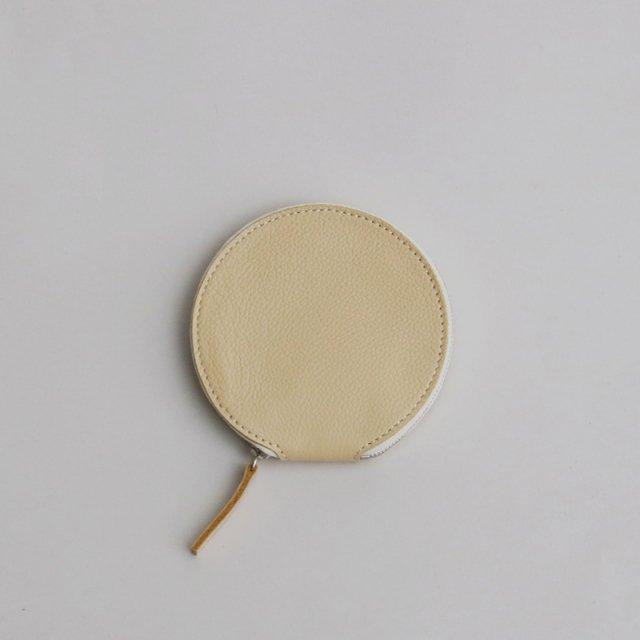 _Fot pouch circle BEIGE