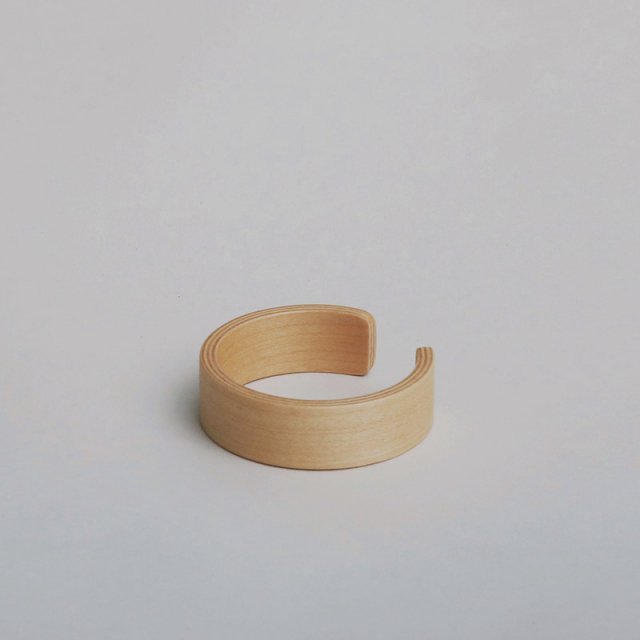 【2019S/S】_Fot playwood bangle 20 MAPLE