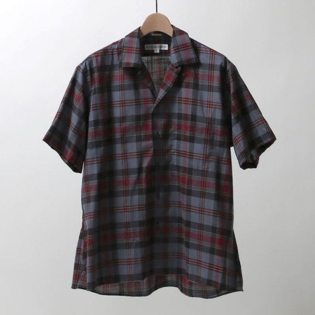 【7月13日再値下げ!25%OFF】INDIVIDUALIZED CAMP COLLAR SHORT SLEEVE