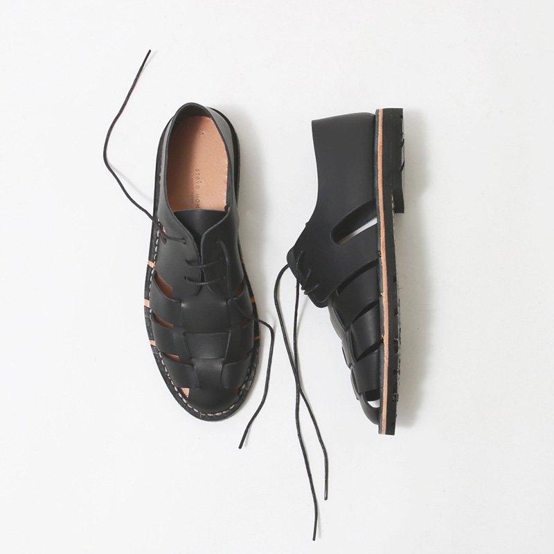 【STEVE MONO スティーブモノ】Artisanal Sandals 10/05 black