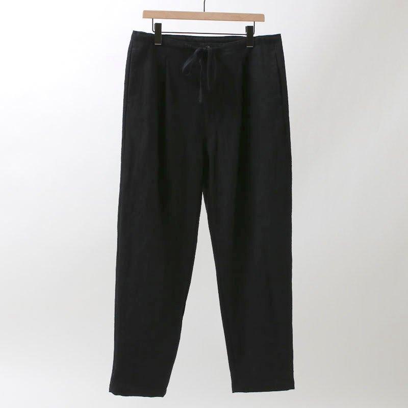 【bukht】1-TUCK TAPERED PANT BLACK