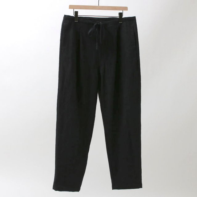 【2019S/S】【bukht】1-TUCK TAPERED PANT BLACK