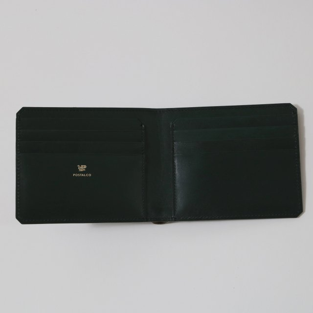 【POSTALCO】GLIDER CARD BILLFOLD MOSS GREEN