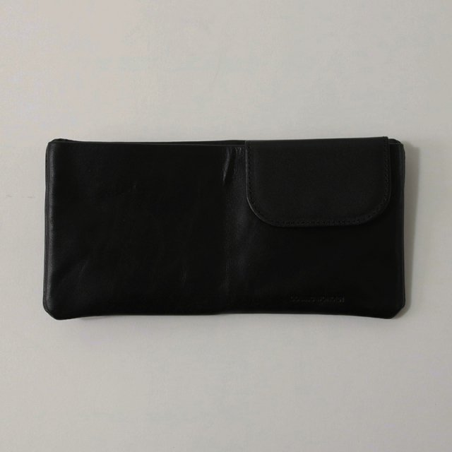 【COSMIC WONDER コズミック ワンダー】NATURALLY TANNED LEATHER BIFOLD WALLET