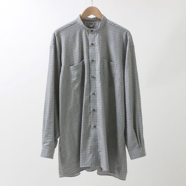 【当店別注商品】INDIVIDUALIZED SHIRTS BAND COLLAR SHIRTS CHECK