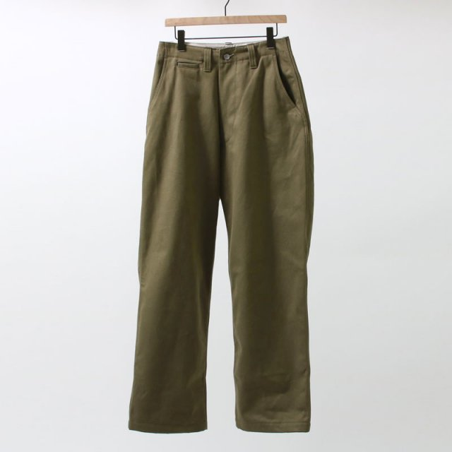 【2019 A/W】【E.TAUTZ イートウツ】CORE FIELD TROUSERS