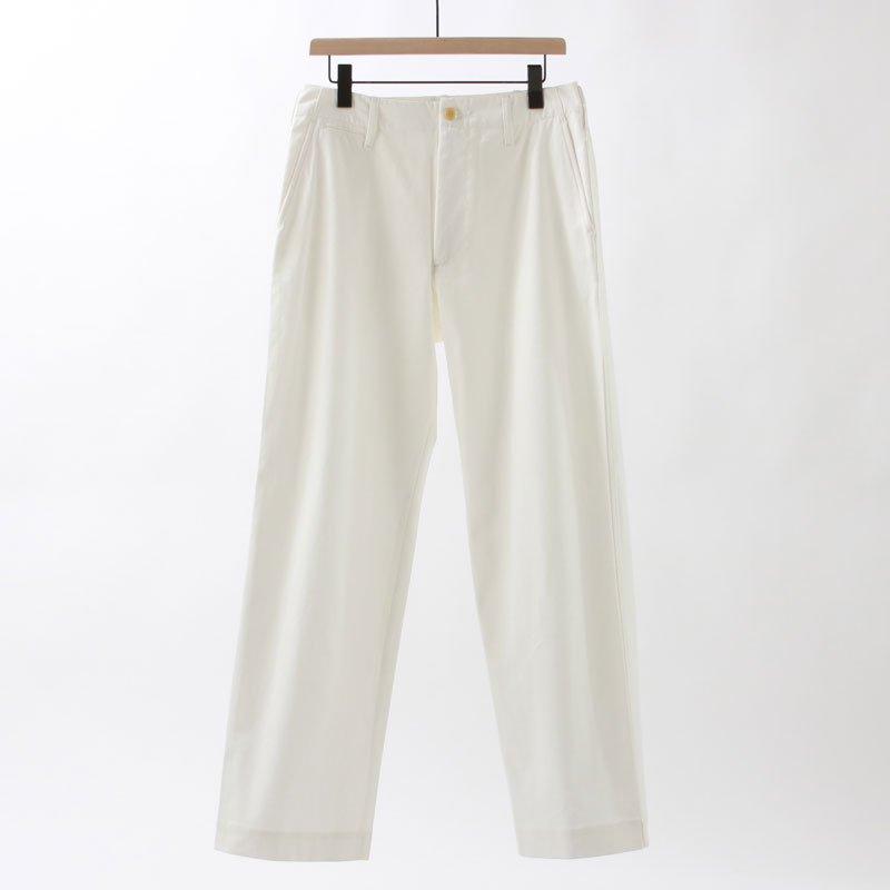 【4月18日再入荷】【2020 S/S】【AURALEE オーラリーメンズ】WASHED FINX LIGHT CHINO PANTS