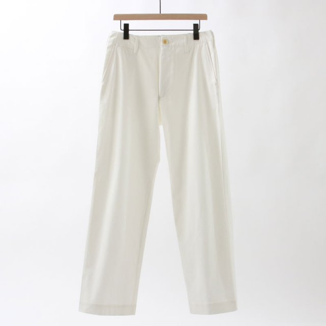 【2020 S/S】【AURALEE オーラリーメンズ】WASHED FINX LIGHT CHINO PANTS
