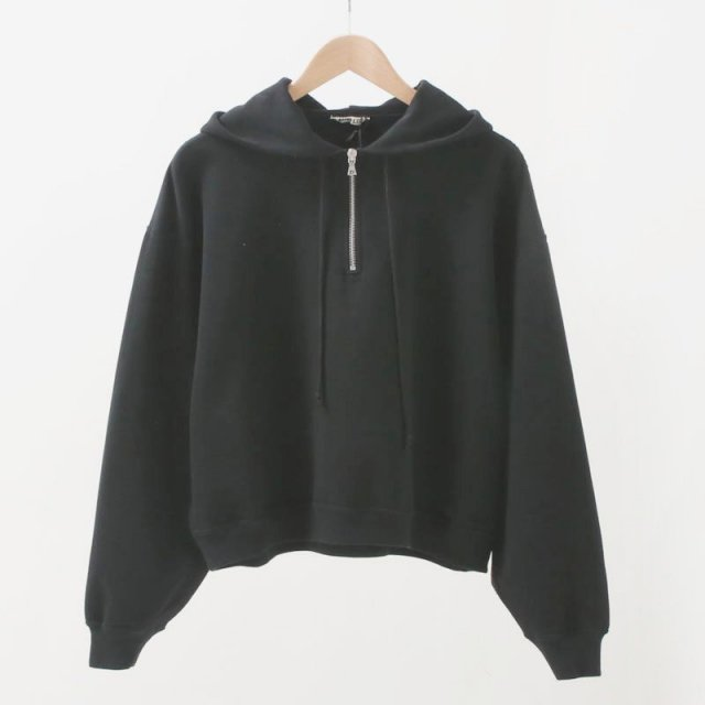 【2020 S/S】【AURALEE オーラリーレディース】SUPER SOFT SWEAT BIG P/O PARKA BLACK