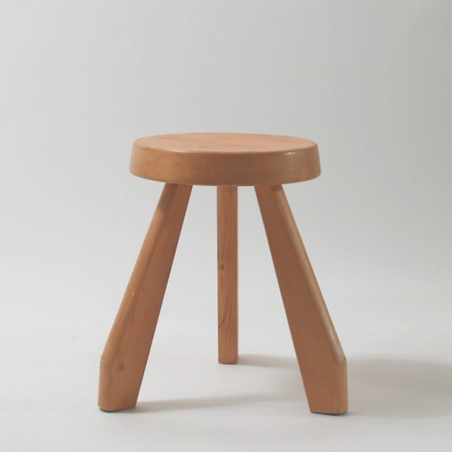 Charlotte Perriand Les Arcs SANDOZ stool シャルロット・ペリアン スツール