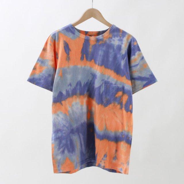 【25%OFF】【2020S/S】【FilMelange フィルメランジェメンズ】TD-DIZZY/ディジー tie dye orange