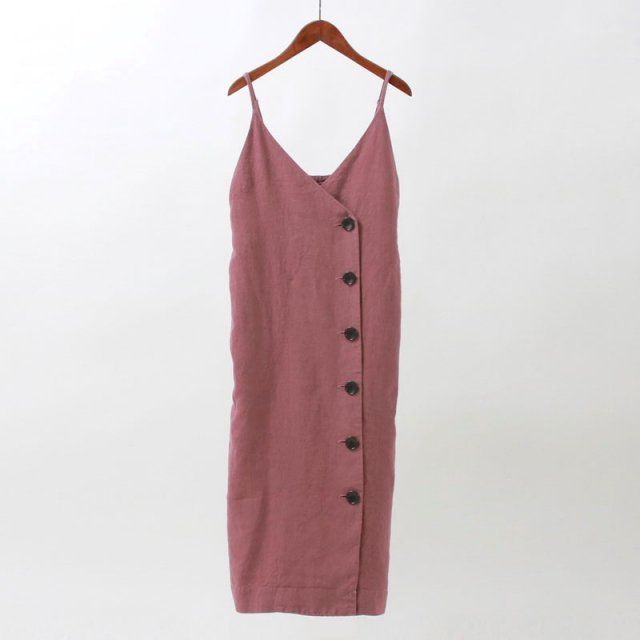 【8月1日再値下げ】【30%OFF】【2020S/S】【R JUBILEE アール ジュビリー】CAMISOLE DRESS DUSTY PNK