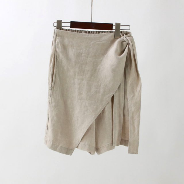【2020S/S】【R JUBILEE アール ジュビリー】LINEN STRIPE SHORTS BEIGE