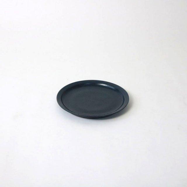 青人窯 6寸皿(灰るり釉)