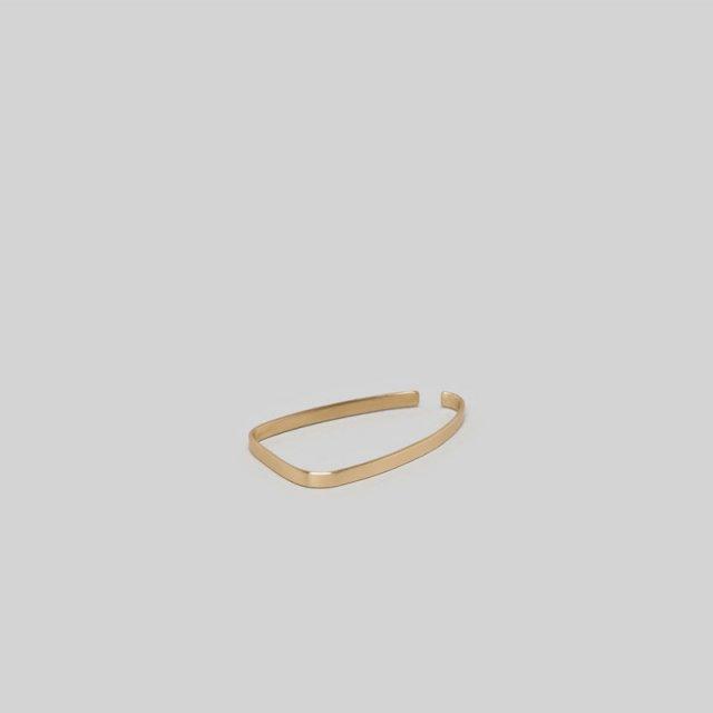 【2020 S/S】_Fot plate earring square(ear cuff)