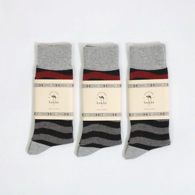 【FINAL PRICE】【66%OFF】【bukht】3P SOCKS