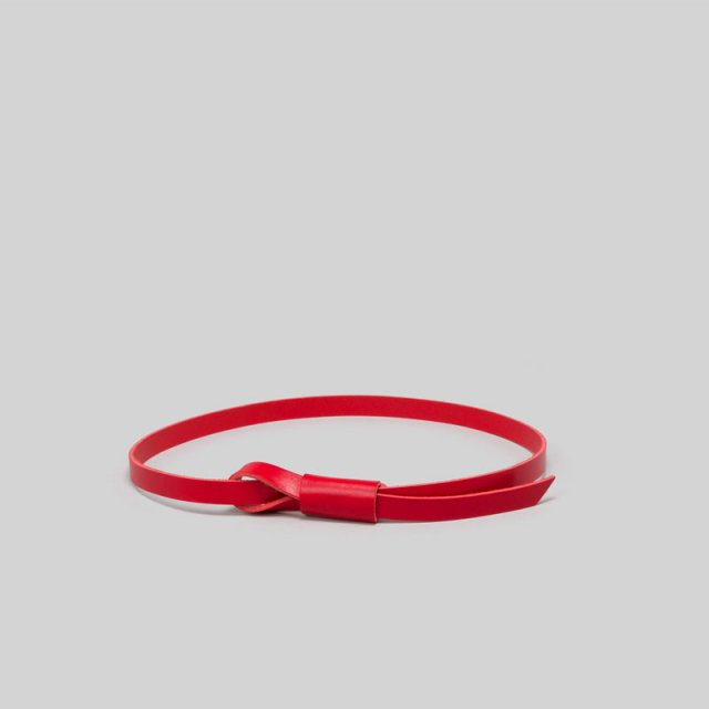 _Fot knot belt RED