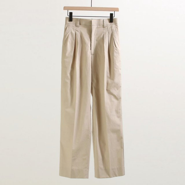 【40%OFF】【JANE SMITH ジェーンスミス】SIDELINE THREE TUCK PANTS